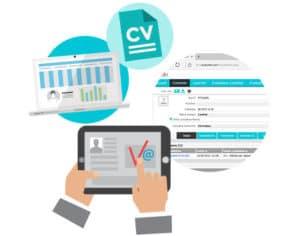 CRM gestion des candidatures