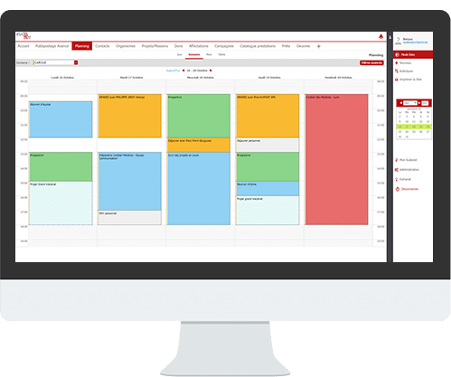 CRM Features Shared Calendar